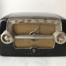 Radios de válvulas: ANTIGUA RADIO DE BAQUELITA CROSLEY AMERICANA. Lote 134393998