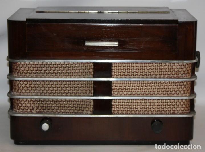 RADIO SABA VILLINGEN (1936-37) ALEMANIA.S-442-WLK. (Radios, Gramófonos, Grabadoras y Otros - Radios de Válvulas)