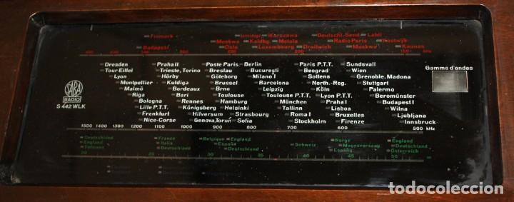 Radios de válvulas: RADIO SABA VILLINGEN (1936-37) ALEMANIA.S-442-WLK. - Foto 7 - 135385850