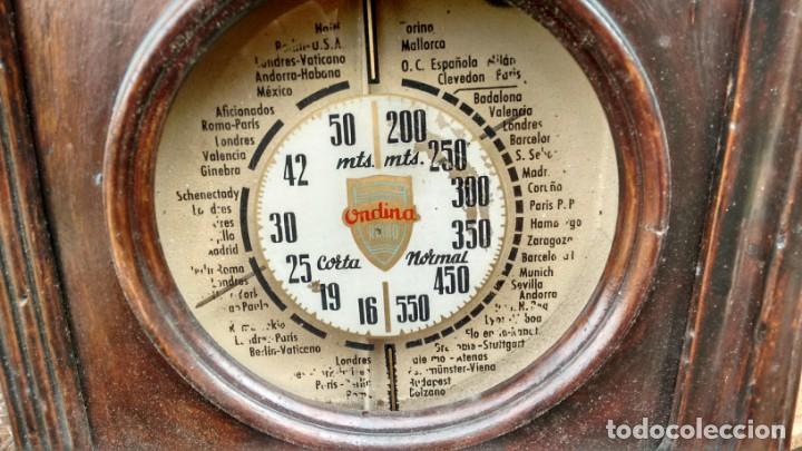 Radios de válvulas: Radio Ondina - Foto 2 - 180396637
