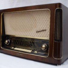 Radios de válvulas: ANTIGUA RADIO DE VÁLVULAS TELEFUNKEN, MAGNIFICA (VER FOTOS), FUNCIONANDO GRAN SONIDO (VER VIDEO). Lote 137206006