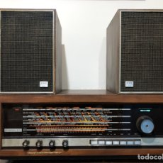Radios de válvulas: RADIO KORTING STEREO 400, DE 9 VALVULAS CON MUEBLE DE MADERA. ALEMANA, VINTAGE. Lote 138049117