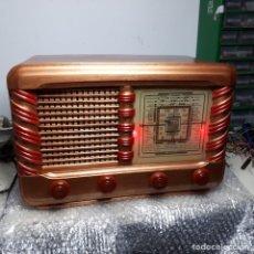 Radios de válvulas: RADIO KIT DE CINCO VÁLVULAS, DE MADERA, ANTIGUA - VINTAGE. Lote 138945826