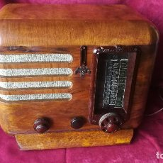 Radios de válvulas: RADIO MINERVA 375, FABRICA EN AUSTRIA. AÑO 1936, VER FOTOS Y DESCRIPCION. Lote 190498871