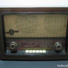 Radios de válvulas: RADIO DE VÁLVULAS ASKAR MODELO 515-A - 1957 - 110/125/150V - (FABRICADA EN IRÚN - GUIPÚZCOA). Lote 139991834