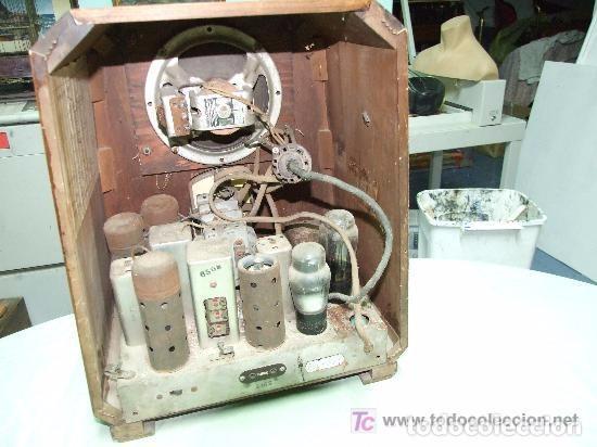 Radios de válvulas: RADIO VALVULAS CLARION, USA - Foto 4 - 140252026