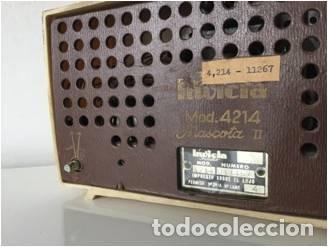 Radios de válvulas: RADIO A VALVULAS MARCA INVICTA - Foto 2 - 140544650