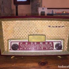 Radios de válvulas: ANTIGUA RADIO A VÁLVULAS DE BAQUELITA DE LA MARCA INTER MODELO GOBI DE LOS AÑOS 50-60 . Lote 140572298