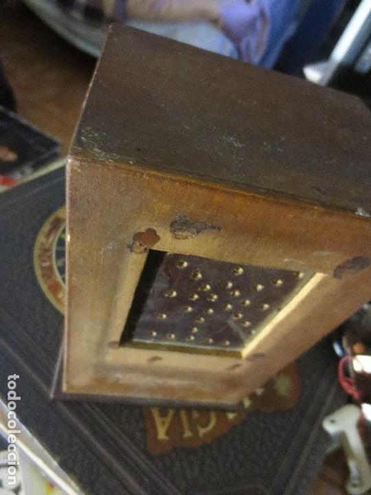 ANTIGUA RADIO ARTESANAL ? MADERA PARA RESTAURAR (Radios, Gramófonos, Grabadoras y Otros - Radios de Válvulas)
