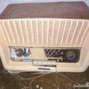 Radios de válvulas: ANTIGUA RADIO DE VALVULAS TELEFUNKEN CONCERTINA A 1957 FM E, PARA REPARAR O PIEZAS. Lote 141856654