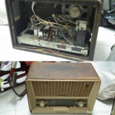 Radios de válvulas: RADIO PHILIPS B5E83A. Lote 142678734