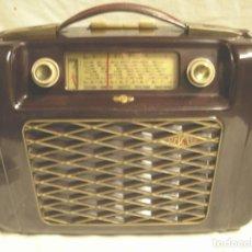Radios de válvulas: RADIO PASCHA UKW ALEMÁN 125 V, BAQUELITA, AÑO 56. MED. 34 X 12 X 29 CM. Lote 143571206