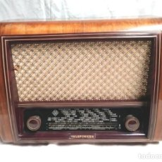Radios de válvulas: RADIO TELEFUNKEN IBERIA GETAFE MADRIGAL U 1375 AÑO 53, FUNCIONA BUEN ESTADO TODO DE ORIGEN. Lote 143571278