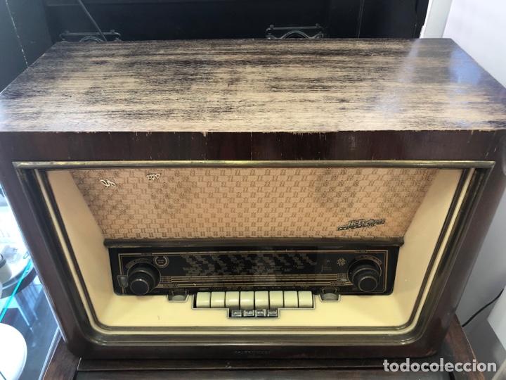 RADIO DE VÁLVULAS TELEFUNKEN FUNCIONANDO. (Radios, Gramófonos, Grabadoras y Otros - Radios de Válvulas)