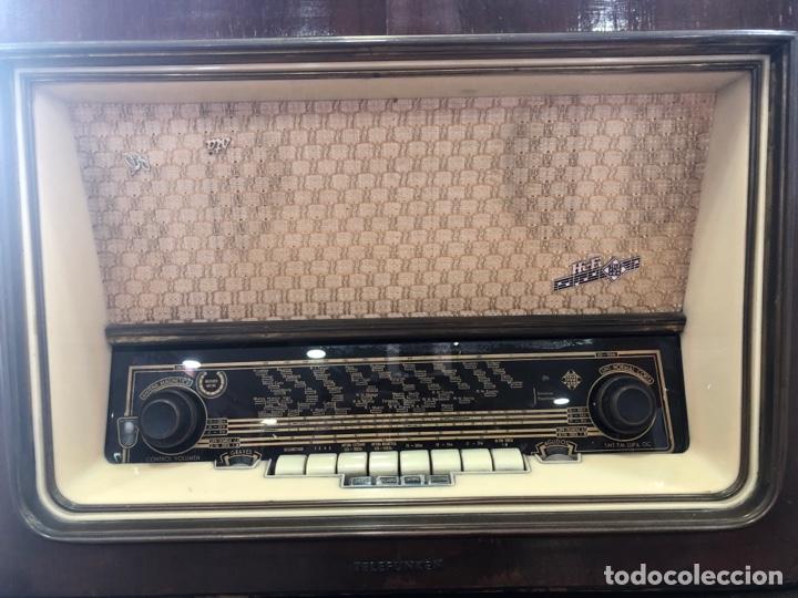 Radios de válvulas: Radio de válvulas Telefunken funcionando. - Foto 2 - 143791532