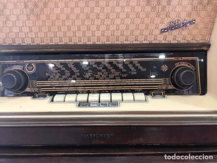 Radios de válvulas: Radio de válvulas Telefunken funcionando. - Foto 3 - 143791532
