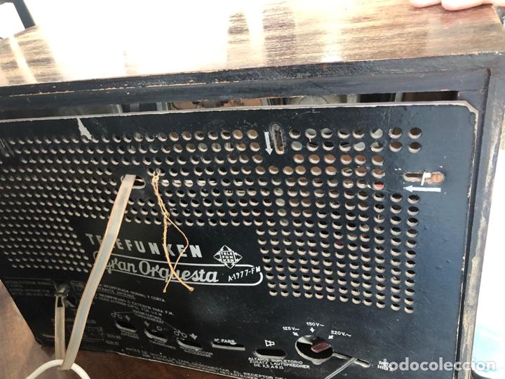 Radios de válvulas: Radio de válvulas Telefunken funcionando. - Foto 4 - 143791532