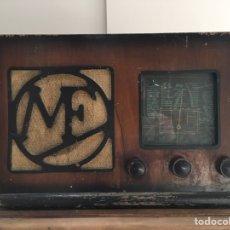 Radios de válvulas: RADIO ANTIGUA MANUFRANCE MODELO BA 50P ?? - RADIO DE VÁLVULAS - DECORACIÓN VINTAGE - MF. Lote 144082404