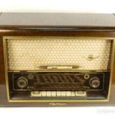 Radios de válvulas: RADIO ANTIGUA NORDMENDE MOD. CARMEN 56 AÑO 1956. Lote 144969666