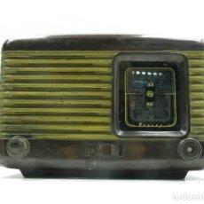 Radios de válvulas: ANTIGUA RADIO DE VÁLVULAS BAQUELITA MARCA PIONER RUSIA USSR EXCELENTE OBJETO DE COLECCIÓN. Lote 146106342