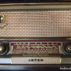 Radios de válvulas: ANTIGUA RADIO MARCA INTER MODELO VERACRUZ. Lote 147019825