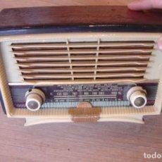Radios de válvulas: RADIO DE VÁLVULAS BRUNET. MODELO 35. PARA RESTAURAR O DECORACIÓN.. Lote 147181774