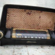 Radios de válvulas: ANTIGUA Y RARA RADIO IBERIA PARA REPARAR O DECORAR. Lote 147366110
