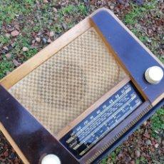Radios de válvulas: ANTIGUA RADIO DE VALVULAS INTER MODELO BATAN (MADE IN SPAIN). DIFÍCIL!!!!.. Lote 147657114