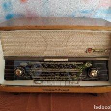 Radios de válvulas: NORDMENDE PARFISAL 59. RADIO ANTIGUA A VÁLVULAS FUNCIONANDO.. Lote 147837078