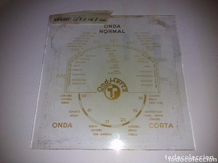 Radios de válvulas: (10) Cristales de dial de Radio - Foto 3 - 148471833