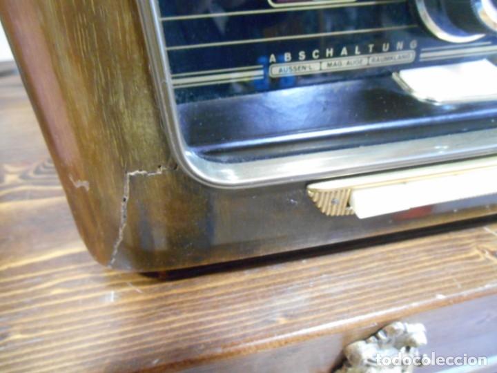 Radios de válvulas: Antiguo Radio de válvulas original, GRAETZ, MELODIA 419, funcionando gran sonido. - Foto 7 - 148099182