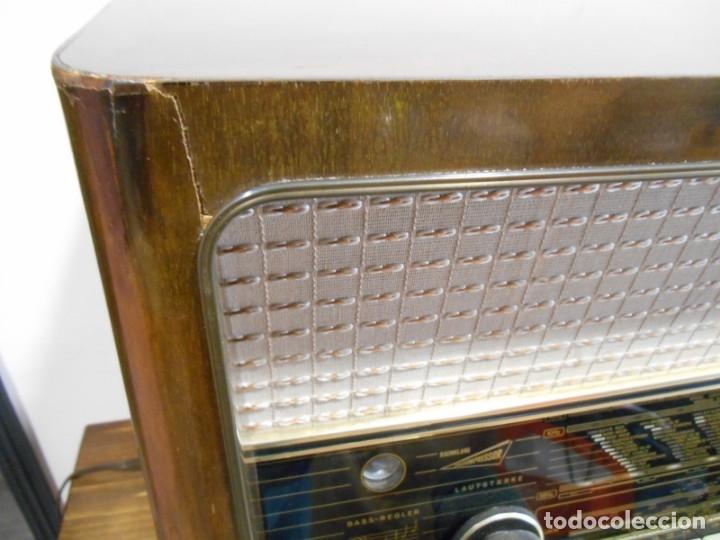 Radios de válvulas: Antiguo Radio de válvulas original, GRAETZ, MELODIA 419, funcionando gran sonido. - Foto 6 - 148099182