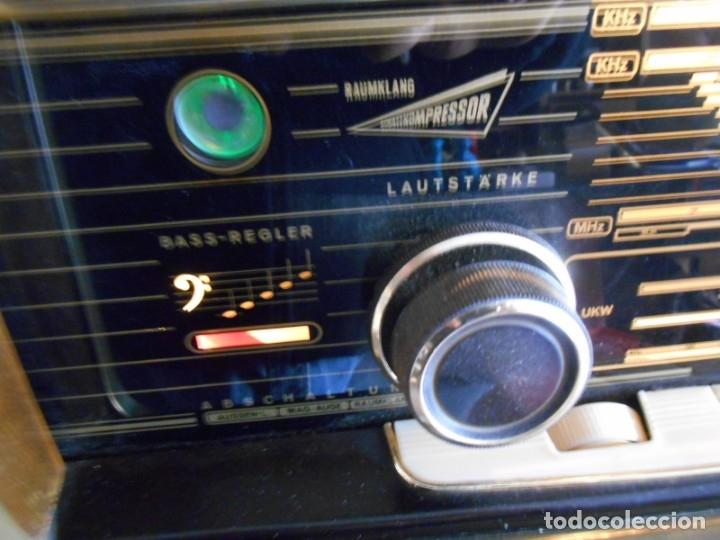 Radios de válvulas: Antiguo Radio de válvulas original, GRAETZ, MELODIA 419, funcionando gran sonido. - Foto 11 - 148099182