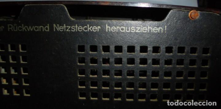 Radios de válvulas: ANTIGUA RADIO. R-F-T EINKREISEMPFÄNGER. MODELO 1U 11. FUNCIONA. 220 V. RADIO BERLIN. 38 X 28CM. VER - Foto 13 - 148912982