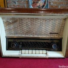 Radios de válvulas: ANTIGUA RADIO DE VALVULAS, TELEFUNKEN INTERMEZZO 57. FUNCIONA. Lote 149103221