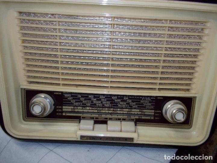 Radios de válvulas: Radio invicta - Foto 9 - 149331770