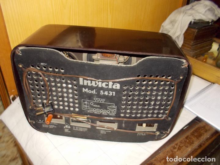 Radios de válvulas: Radio invicta - Foto 10 - 149331770