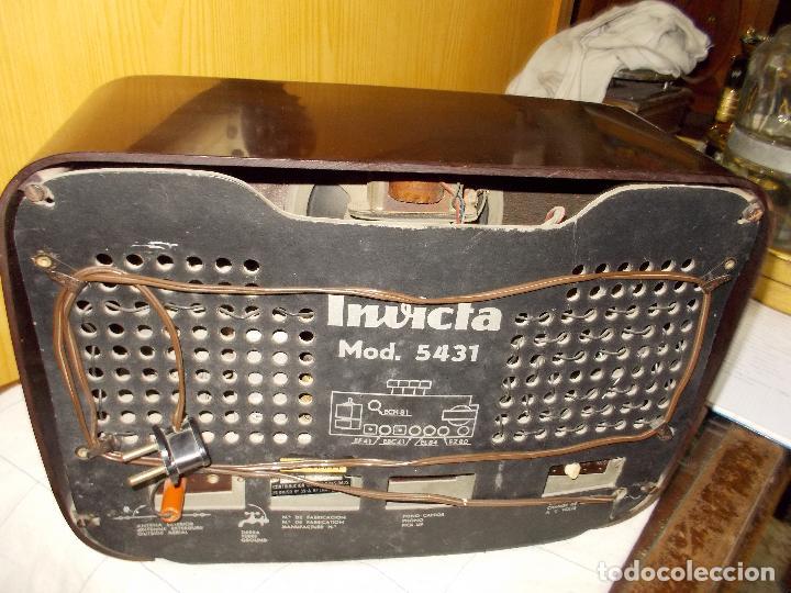 Radios de válvulas: Radio invicta - Foto 18 - 149331770
