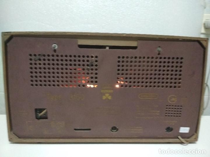 Radios de válvulas: RADIO GRUNDIG (1960) - FUNCIONANDO MUY BIEN - CON FM - OJO MÁGICO - VER VIDEO - Foto 7 - 149645266