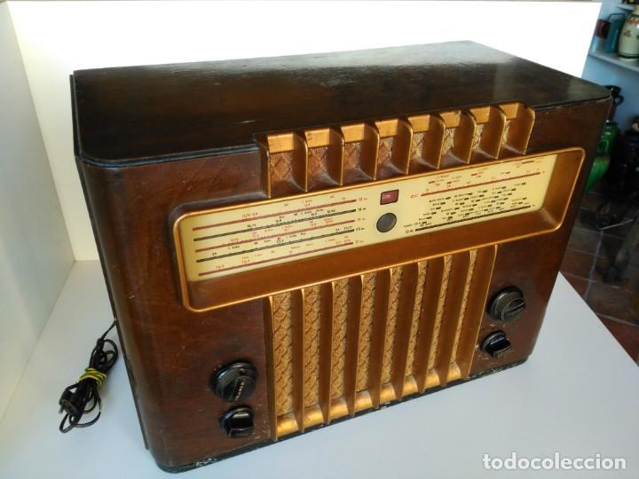 RADIO MARCONI M-49 (Radios, Gramófonos, Grabadoras y Otros - Radios de Válvulas)