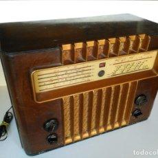 Radios de válvulas: RADIO MARCONI M-49. Lote 150569878