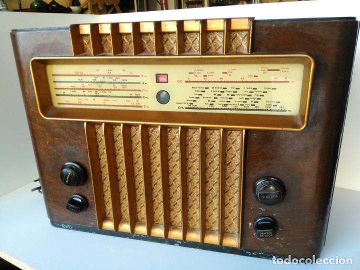 Radios de válvulas: Radio Marconi M-49 - Foto 2 - 150569878