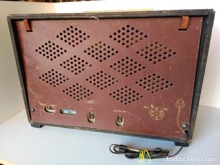 Radios de válvulas: Radio Marconi M-49 - Foto 3 - 150569878