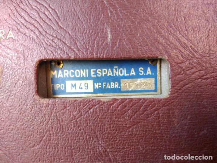 Radios de válvulas: Radio Marconi M-49 - Foto 4 - 150569878