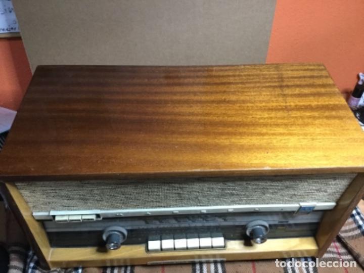 Radios de válvulas: Radio válvulas MARCONI reciclada ,Usb,Bluetooth,mando ,una radio antigua con tecnología 2019 - Foto 2 - 150589322