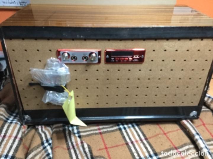 Radios de válvulas: Radio válvulas MARCONI reciclada ,Usb,Bluetooth,mando ,una radio antigua con tecnología 2019 - Foto 6 - 150589322