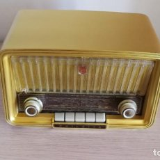 Radios de válvulas: PHILIPS PHILETTA GOLD BD283U, AÑO 1958, EXCEPCIONAL, VER VIDEO Y DESCRIPCION. Lote 150758086