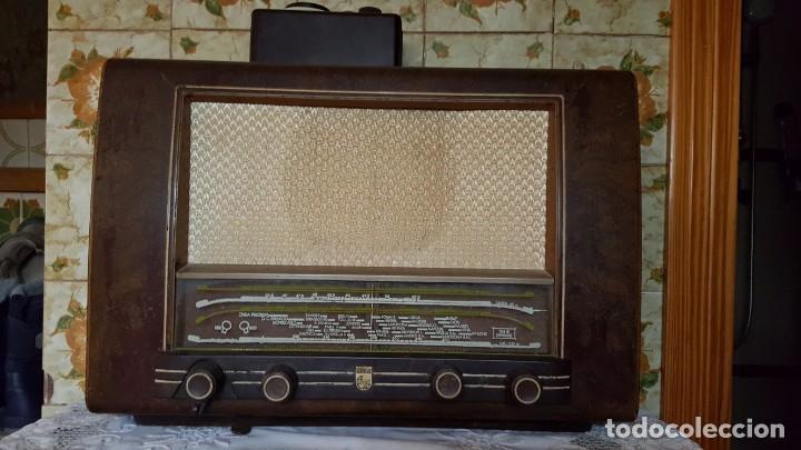 Radios de válvulas: Radio Philips Iberica BE-431-A/01 - Foto 3 - 150849026