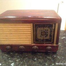 Röhrenempfänger - Radio Optimus Modelo 206.. Carcasa madera. Funciona 125V. Mide en cms (38x22x25) - 151004868