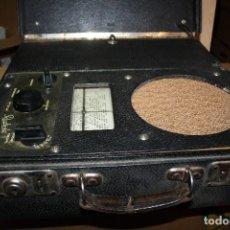 Radios de válvulas: ANTIGUO RADIOLA DE BATERIAS TYP381 BA . Lote 151417238
